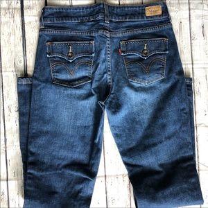 Levi's slender bootcut 526 jeans